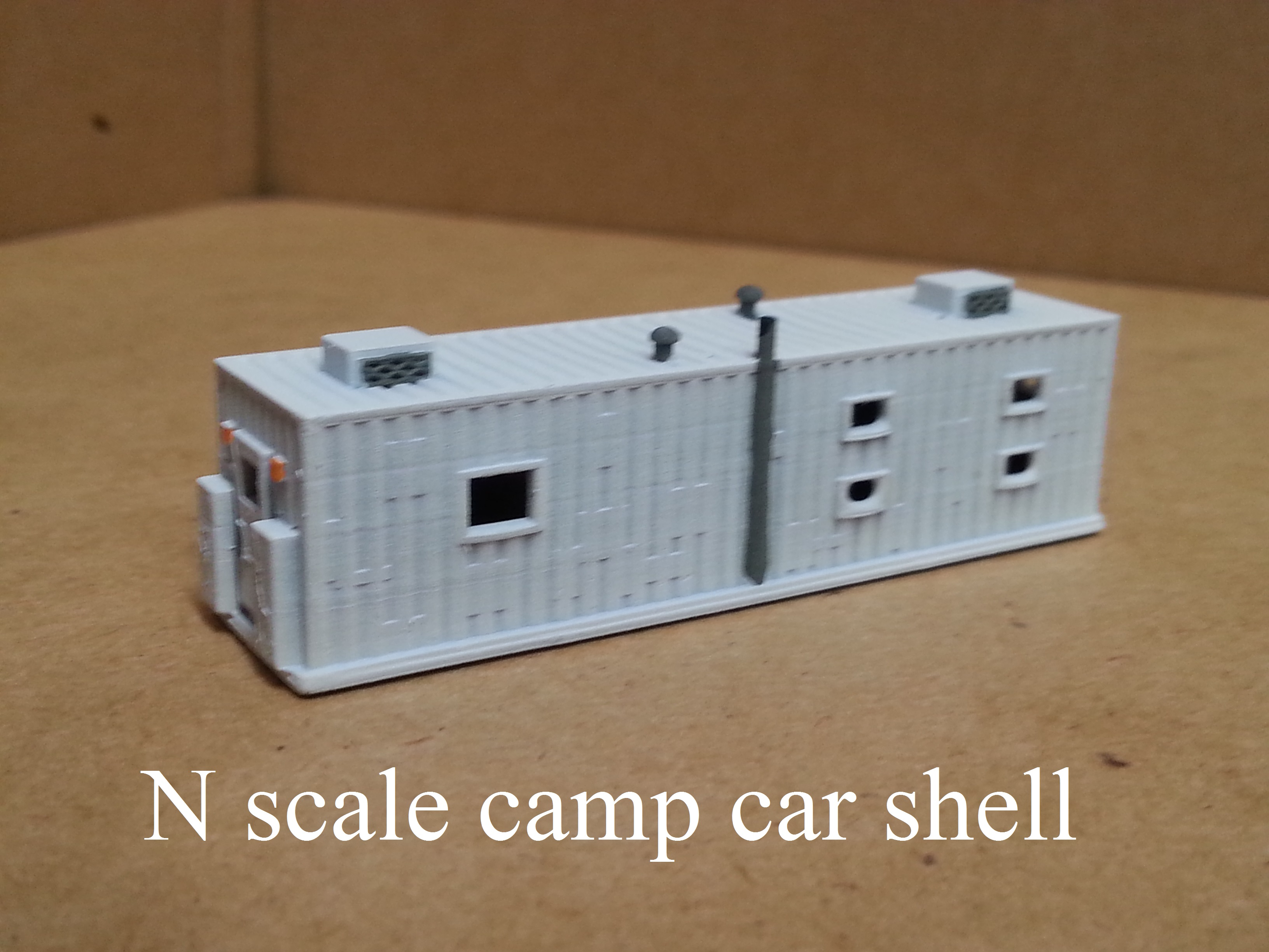 N scale M of W Camp car shell