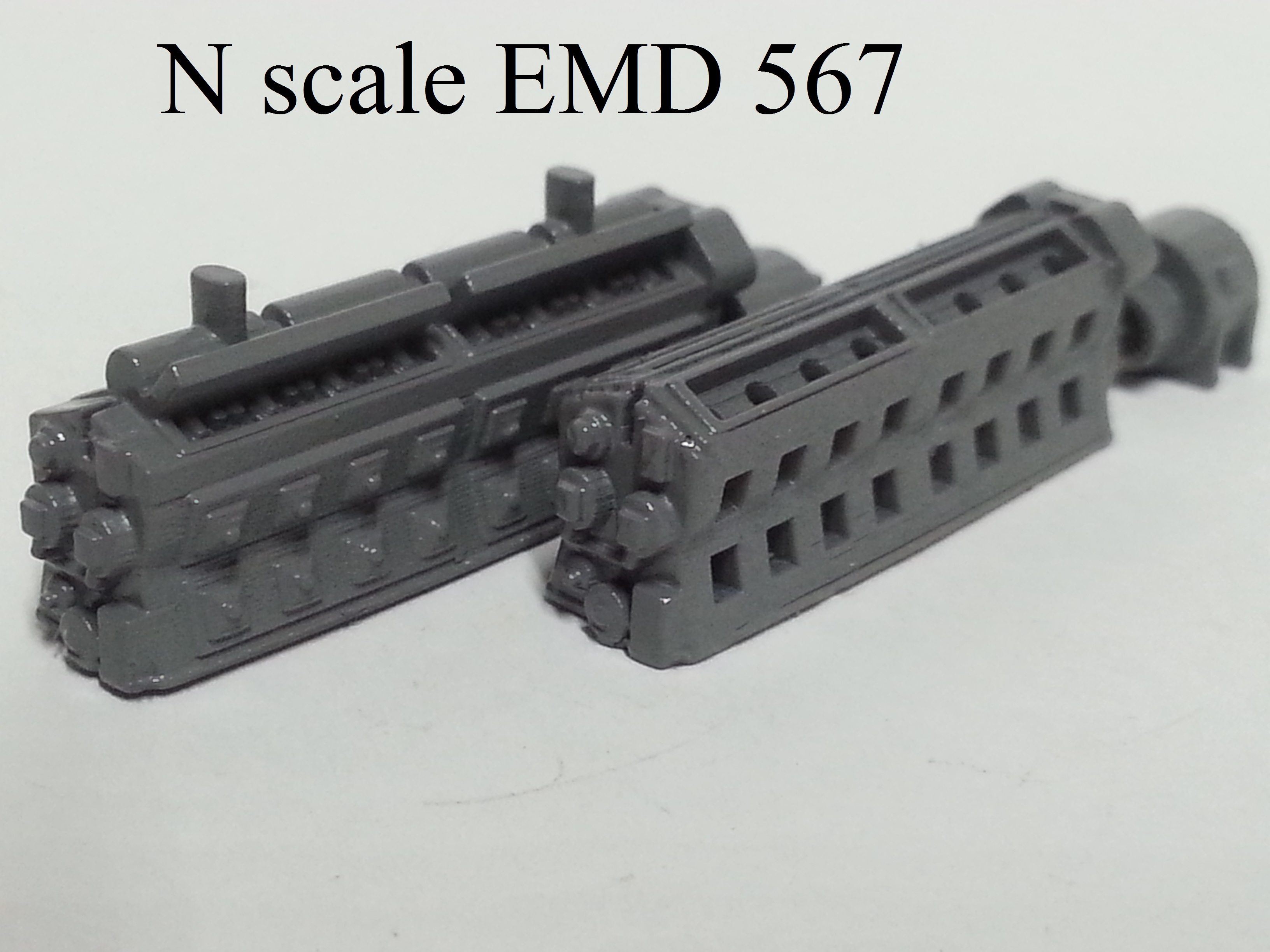 N scale EMD 567 Prime Mover