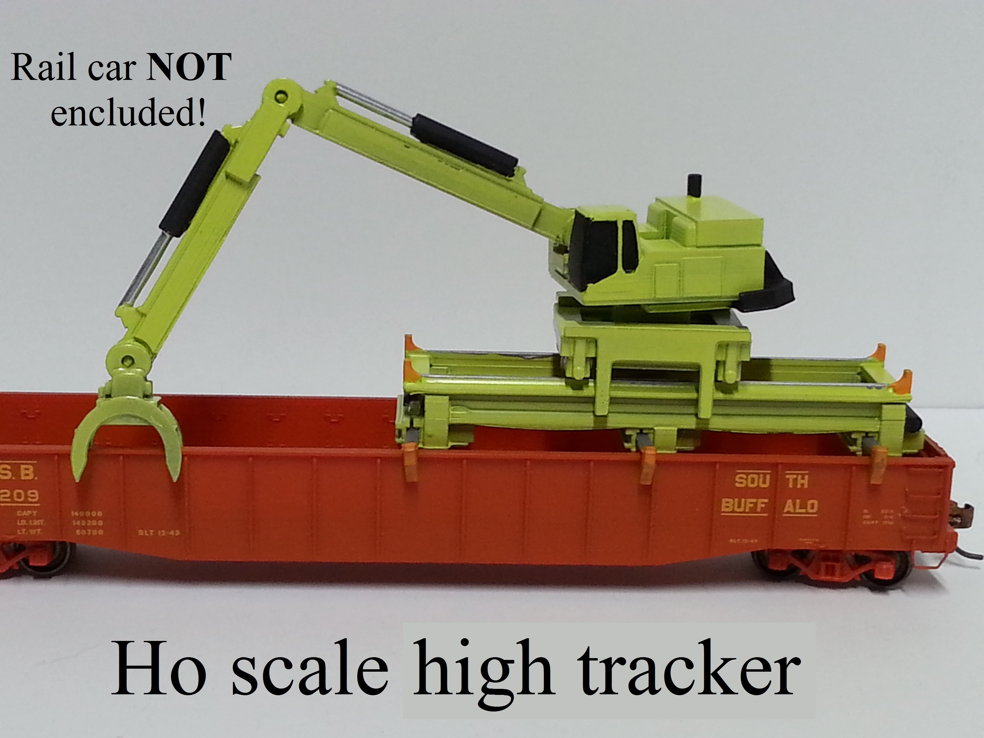 Ho scale high tracker