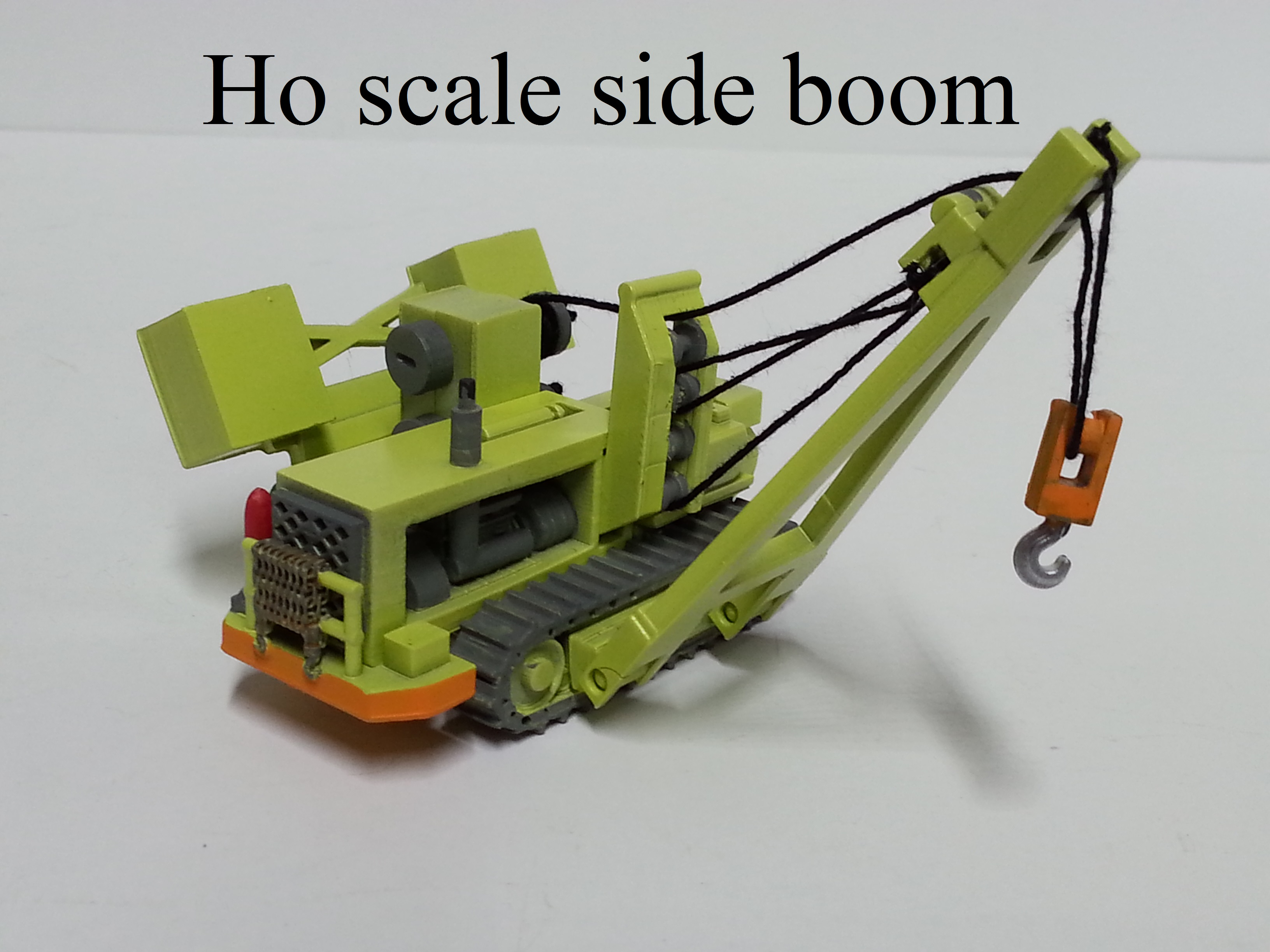Ho scale side boom