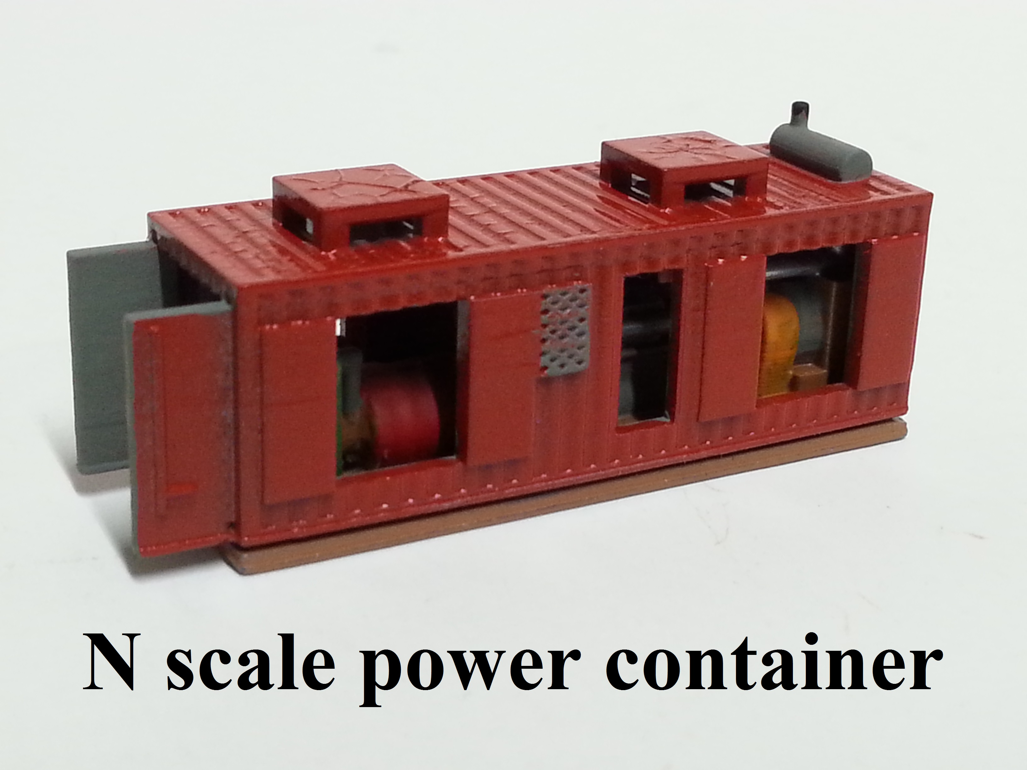 N scale M of W Power container gen.
