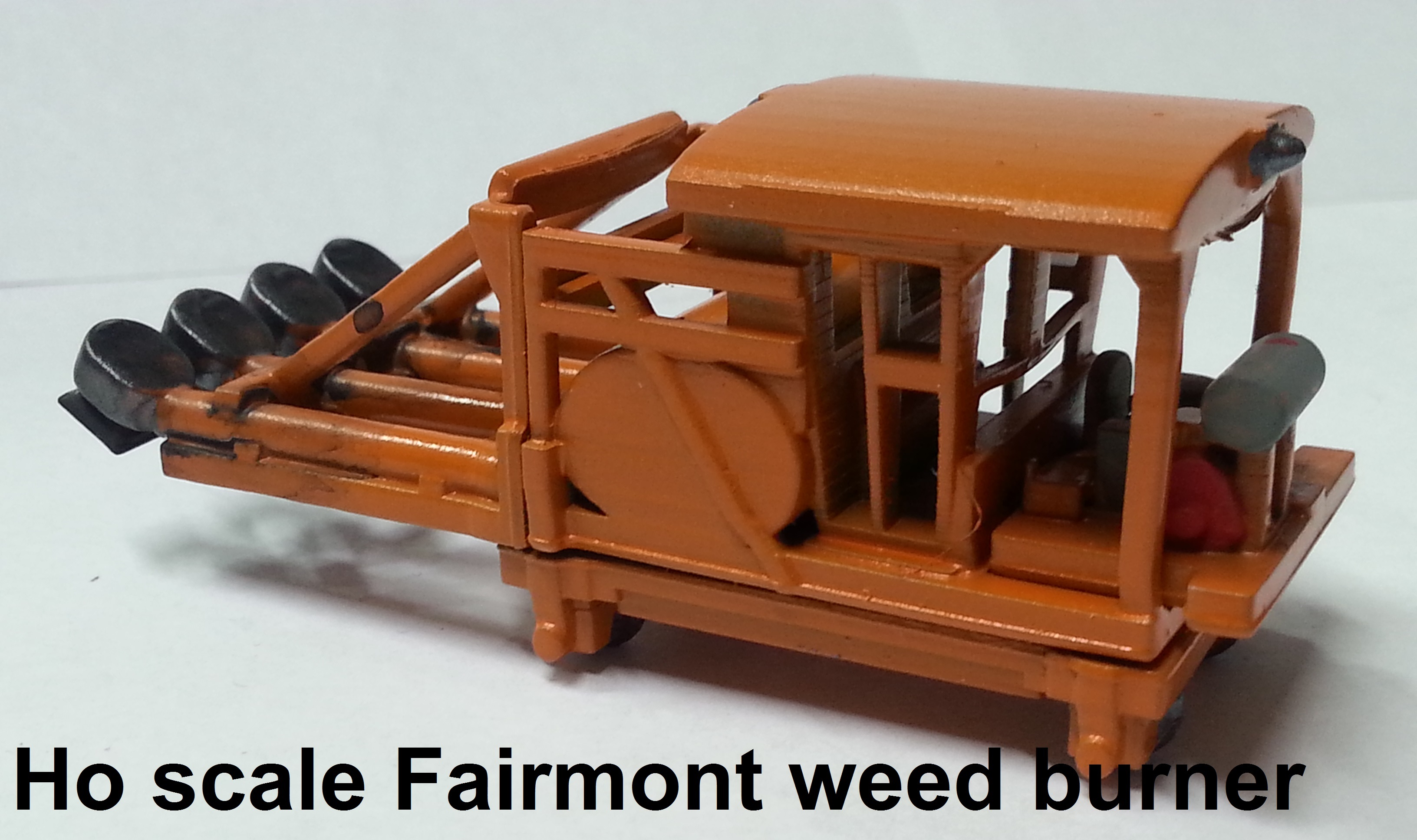 Ho scale Fairmont weed burner