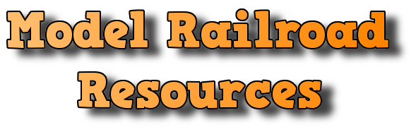 Model Railroad Resources