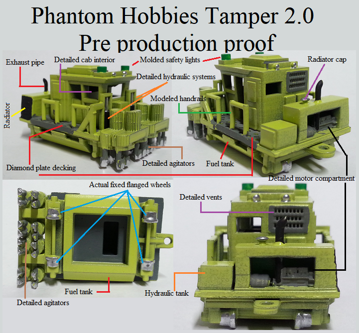 Phantom hobbies tamper 2.0 Pre production proof