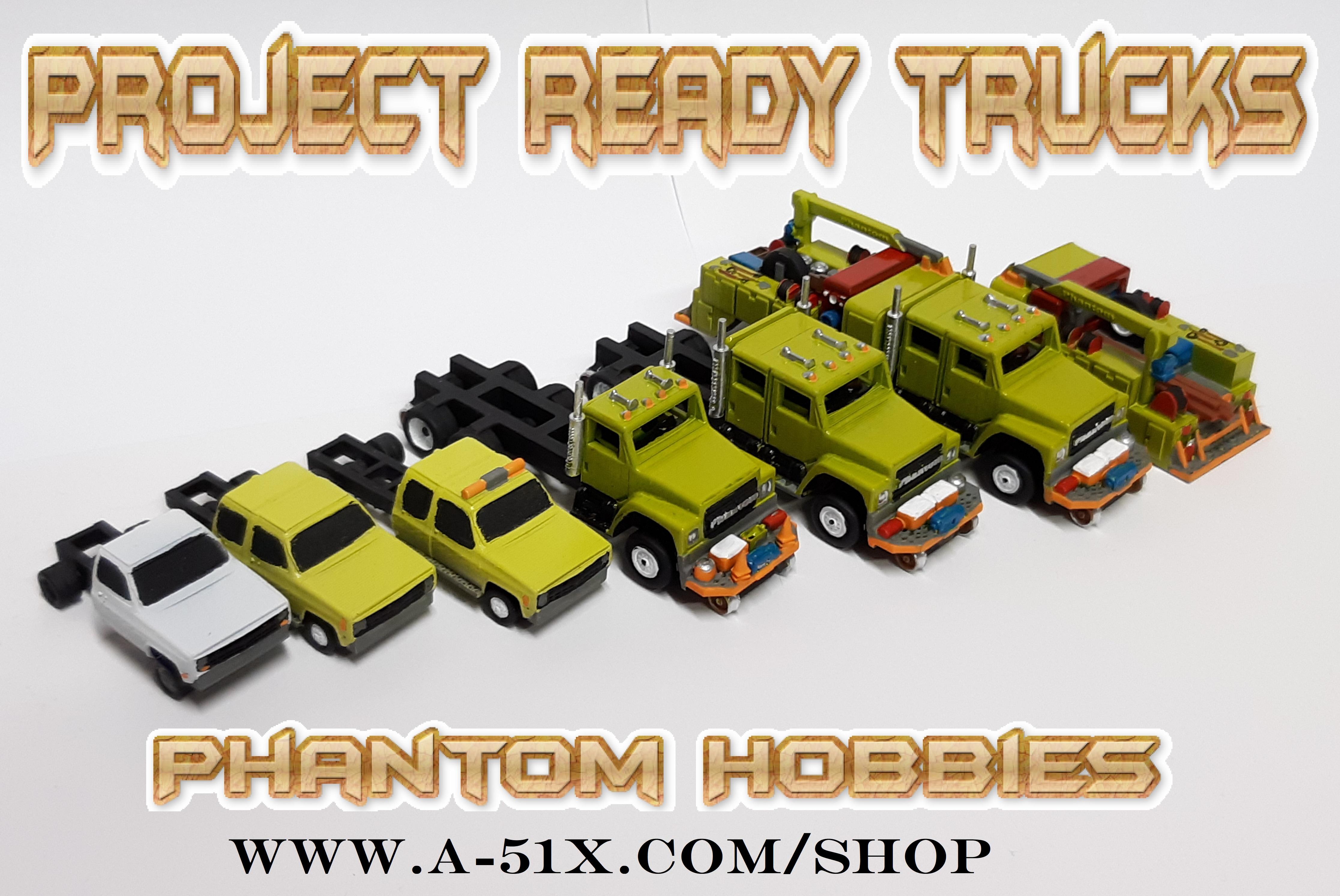 Project ready trucks