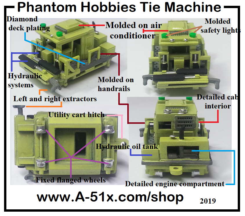 Tie machine / Extractor