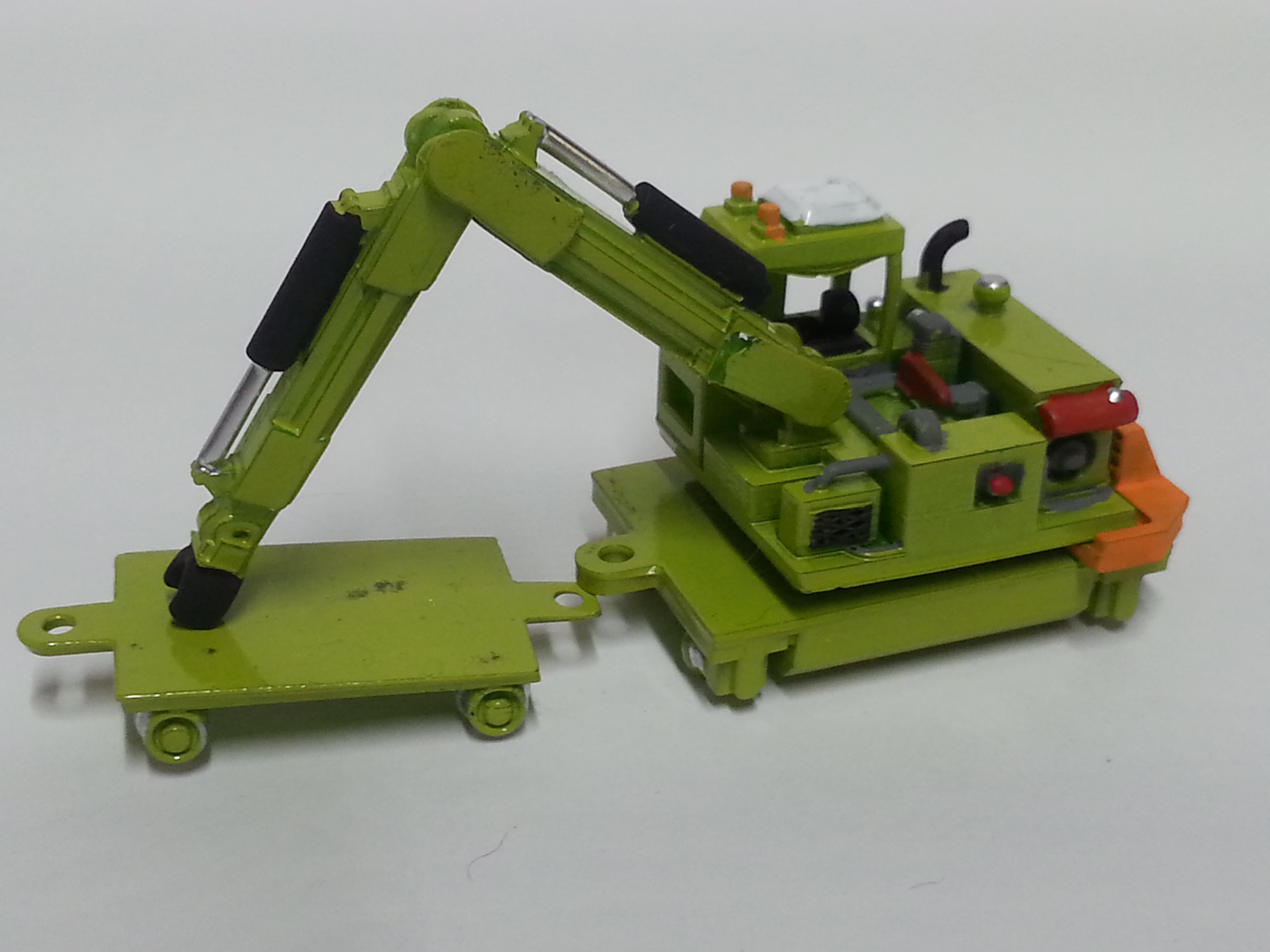 Ho scale tie crane 2.0